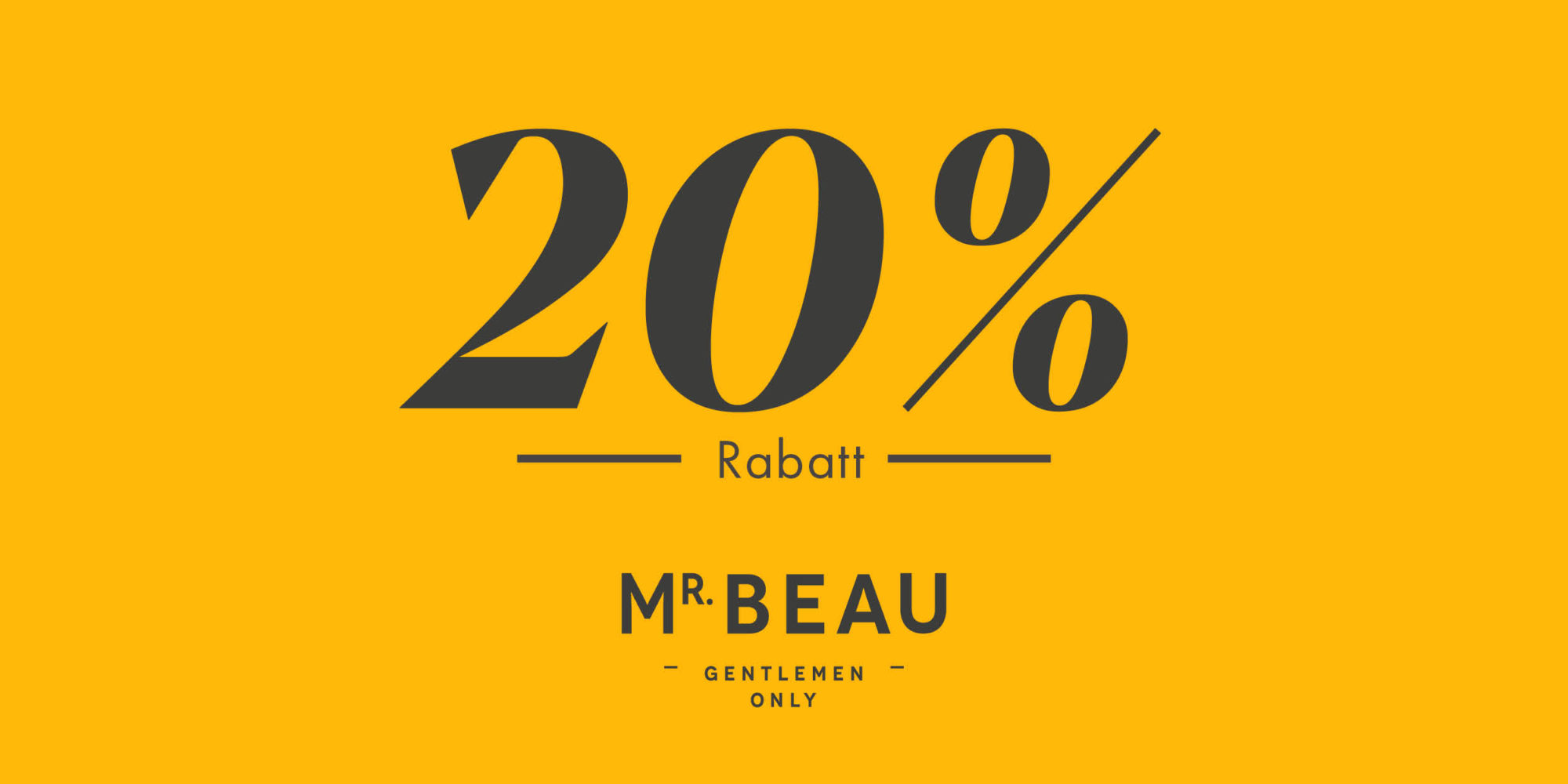 Mr Beau Trier 20%
